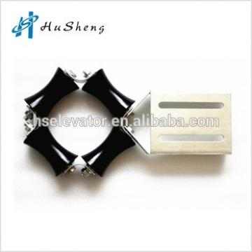 elevator guide device, elevator lift parts guide device
