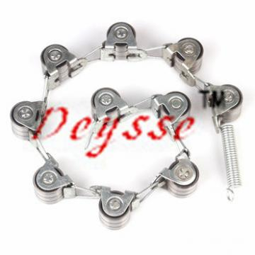 3pcs 6000bearings 17Joints/set Rotary Chain for Escalator Handrail Reversing Chains
