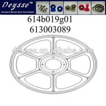 Hyundai Escalator Handrail Drive wheel Part No. 613003089 Drawing No. 614B019G01