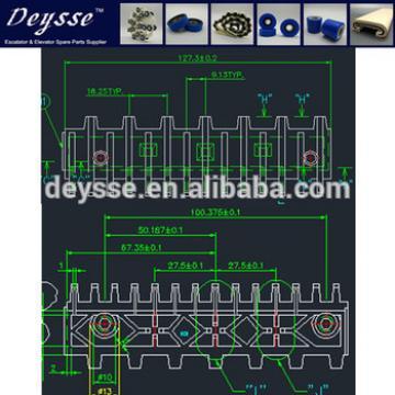 Hyundai Escalator Demarcation Line 645B032H01 C1-AL Step-9.125*14