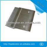 escalator comb floor plate, escalator comb plate
