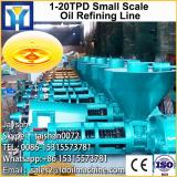 high technology crude oil extraction/copra oil refinery plant for sale