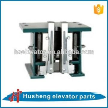 Elevator safety gear, gear motor for elevator