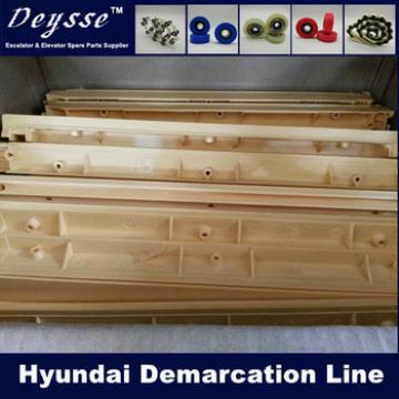 Hyundai Escalator Step Yellow Strip Demarcation Line