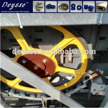 Hyundai Handrail Escalator Friction wheel 587*30