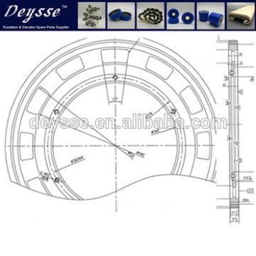 Hyundai Escalator WBT HMBT wheel S620B625 584*31mm Wheels Friction wheel