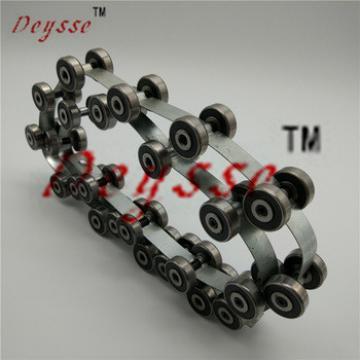 24JOINTS/SET ThyssenKrupp Escalator Handrail Chain 1737525800 Reversing Chains