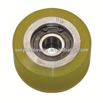 hyundai elevator parts:Handrail Roller 87*42 6204 Double Bearing ID:20 S613C020