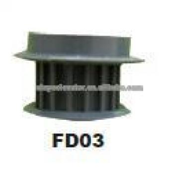 Motor Pulley VVVF For Fermator Elevator parts VF00.C0000