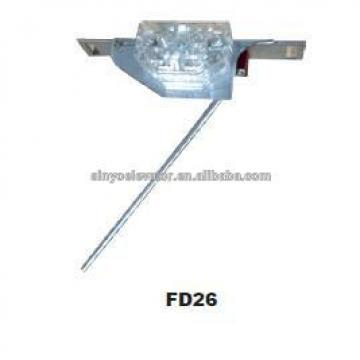 Central Opening Double Lock For Fermator Elevator parts 40DE.RC000