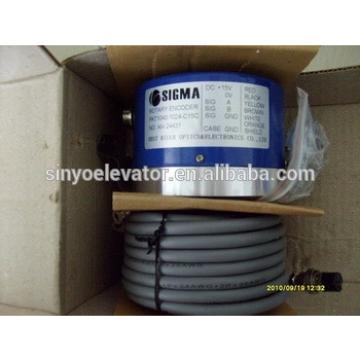 LG-Sigma Elevator Parts:encoder pkt1040-1024-c15c