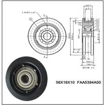 Elevator door roller , Hanger Roller without shaft , parts NO. FAA5394A50