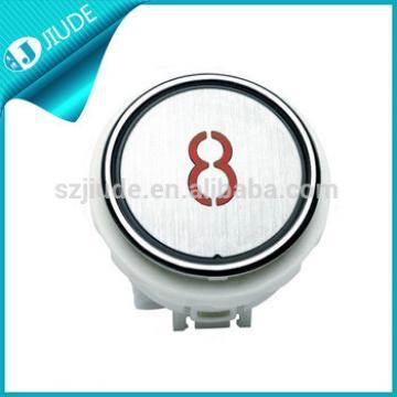 Elevator Kone Round White Push Button