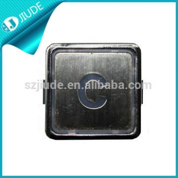 Square Stainless Steel Elevator Call Button