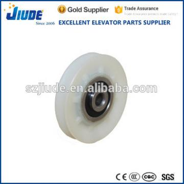 Elevator rope roller automatic lift roller