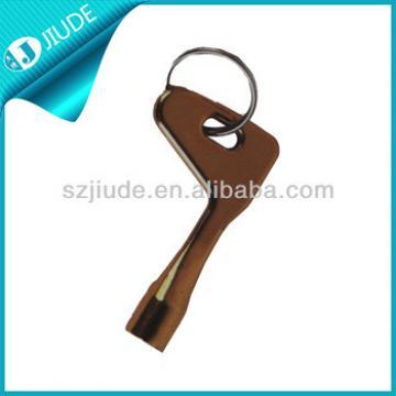 Elevator security door key