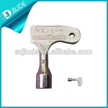 Metal elevator key
