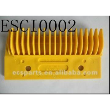 Escalator Spare Hitachi H2200124 Yellow Plastic Comb Plate