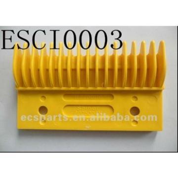 Escalator Spare Hitachi H2200116 Yellow Plastic Comb Plate