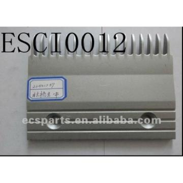 Escalator Spare Hitachi 22501789 Aluminum Comb (Center) Plate