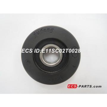 Escalator Step Chain Roller of Schindler 70*25 6204 RS Black