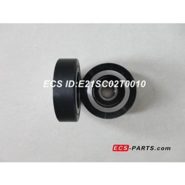 Escalator Step Chain Roller of SIGMA 80*23-6204Z With Aluminum Core Black