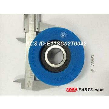 Escalator Step Roller of Schindler SCS241535 70*25mm With Schindler LOGO