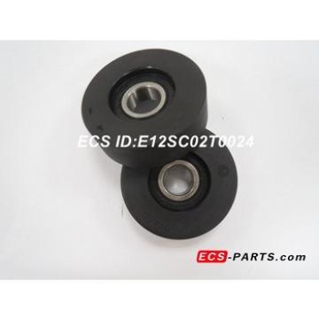 Escalator Step Chain Roller of Kone 60*24-6204RS Black