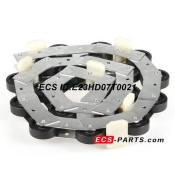 Escalator Newel Chain of SJEC With 18 rollers + 5 pcs guide