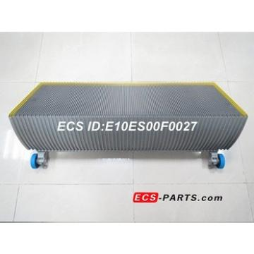 Replacement Escalator Step For GAA26140 gray with yellow painted demarcation