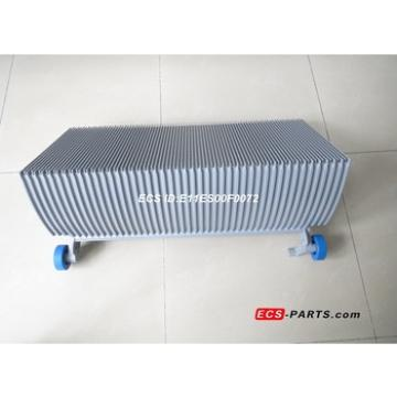 Replacement escalator step for schindler 800mm grey with roller 76*25
