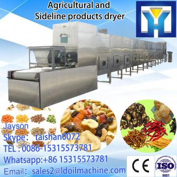 tunnel type millet dryer machine/millet microwave drying machine/millet microwave oven