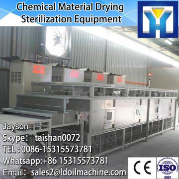 Tunnel continuous conveyor belt type microwave drying potato slice