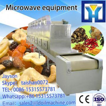 microwave tunnel vegetable dehydrator