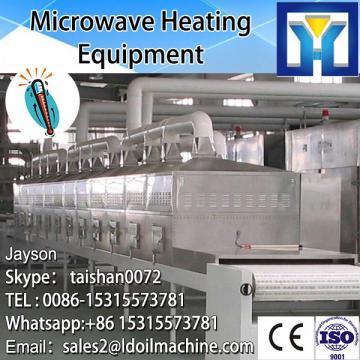 Tunnel Type Microwave Stevia Leaves Drying Sterilizing Machine/Stevia Equipment