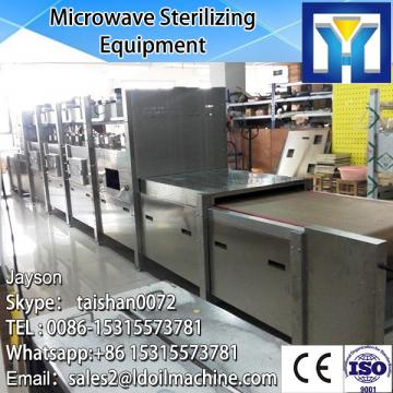 Tunnel continuous conveyor belt microwave drying machine for wood
