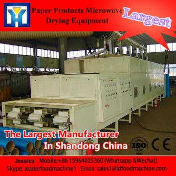 Industrial food salt microwave drying machine