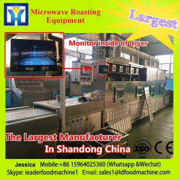 food sterilizer and drying microwave equipment of belt type