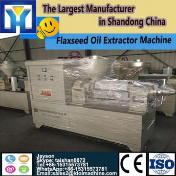 Conveyor belt microwave drying machine for fennel seeds processing