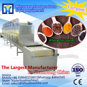 tunnel microwave herbs / pansy drying / dehydration equipment