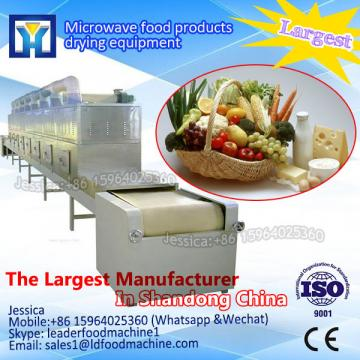 High capacity continuous microwave electric industrial dehumidifier for herbs/fruits