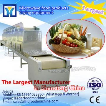 Industrial stainless steel tunnel dryer/microwave conveyor drying machine