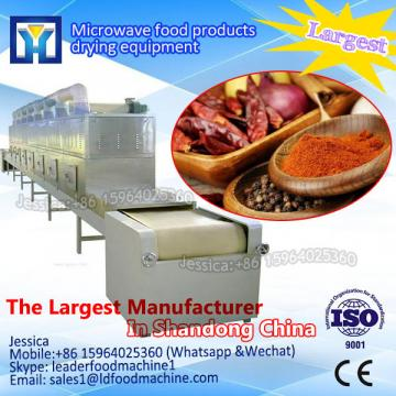 tunnel microwave dryer used for tea leaves /herb / Tobacco leaf