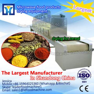 Industrial tunnel microwave dryer for soybean protein / soybean protein drying machine
