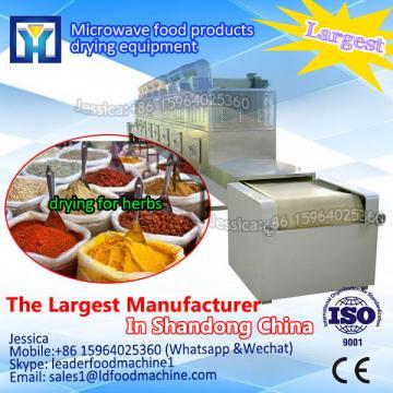 Microwave tobacco leaves drying machine/leaf dryer machine/sterilizer dryer oven