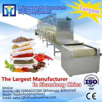 Industrial tunnel microwave cocoa beans drying machine