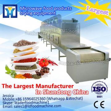 The machine sterilization of herbs/continuous belt herbs sterilizing equipment