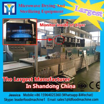 12KW spices tunnel microwave sterilization equipment