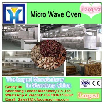 new condition CE certification microwave tunnel dryer