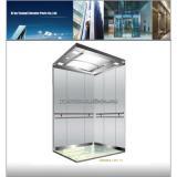 Machine roomless passenger elevator, gearless machine roomless elevators